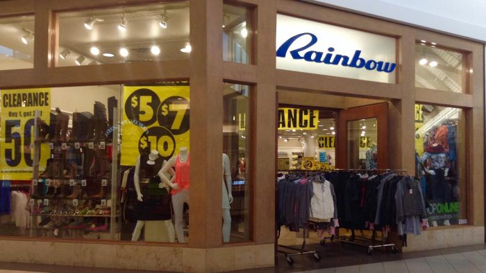 Who Are the Target Female Customers for Rainbow Clothes?