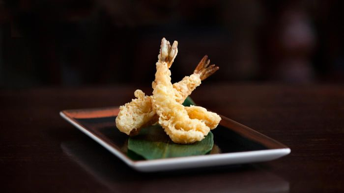 What Is a Traditional Japanese Tempura Batter Mixture?