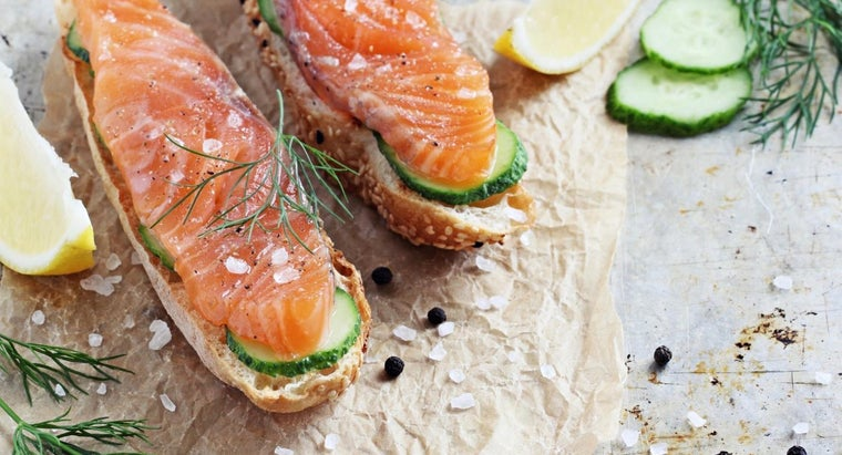 What Is a Delicious Recipe for Brined Smoked Salmon?