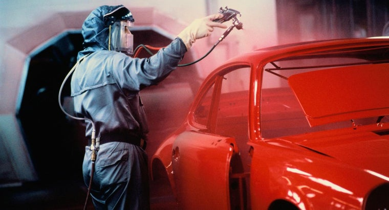 How Much Does an Auto Paint Job Usually Cost?