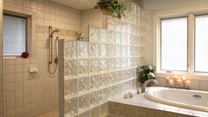 How Do You Install Glass Blocks in a Bathroom?