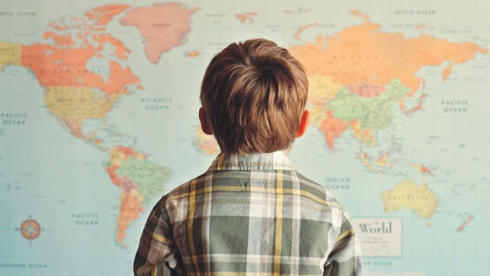 Where Can You Find a Map of the World?