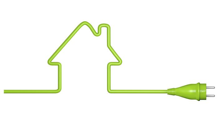 How do you run electrical wiring in a house?