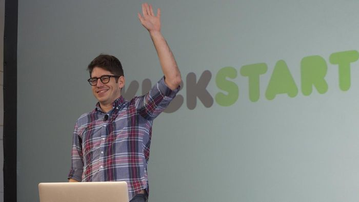 How much money is donated annually to Kickstarter funding campaigns?