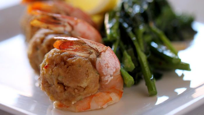 Where Can You Find a Crab-Stuffed Shrimp Recipe?