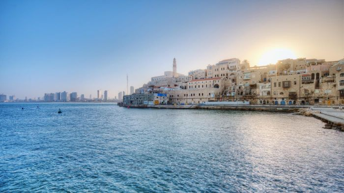 Where Can You Find a Map of Israel?