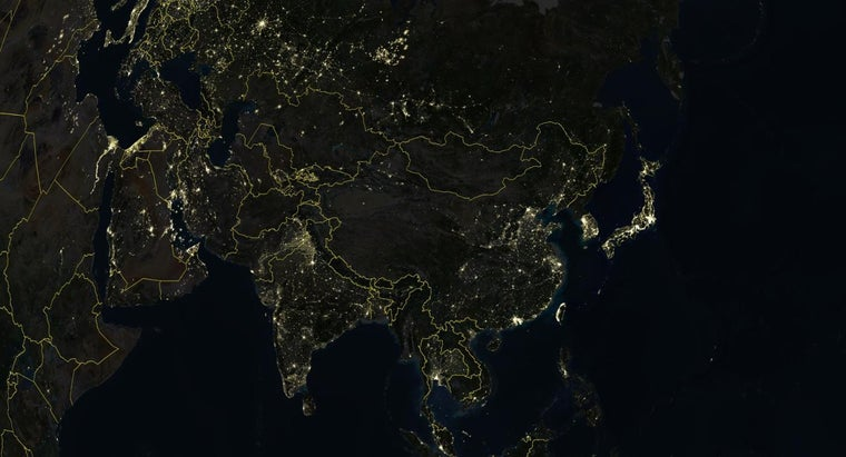 What Can You See on a Satellite Map View?