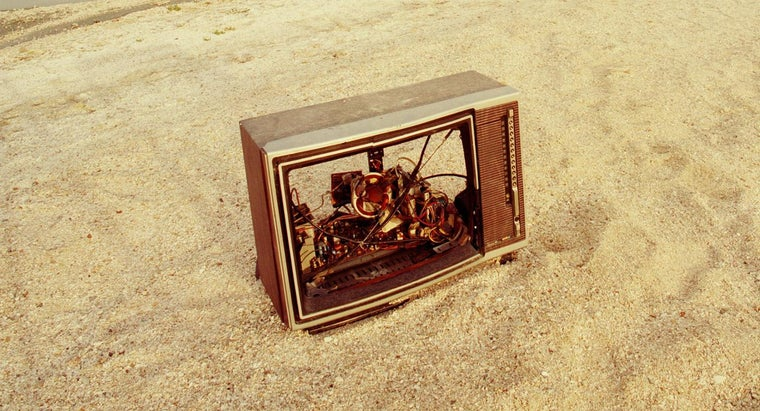 What Is the Average Cost to Dispose of a Television?