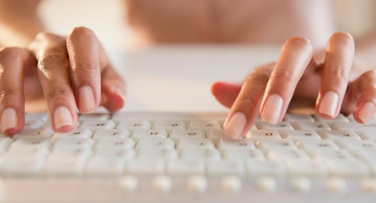 What Are Some Ways to Learn How to Type?