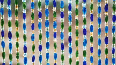 How Do You Make Funky Beaded Door Curtains?