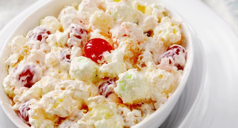 What Is an Easy Ambrosia Recipe?