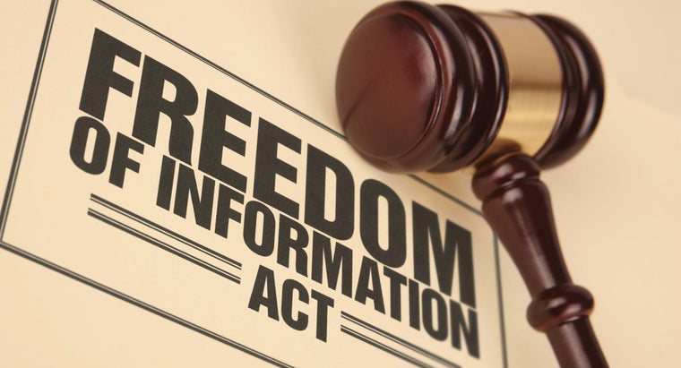 Where Can You Download the Freedom of Information Act Form?