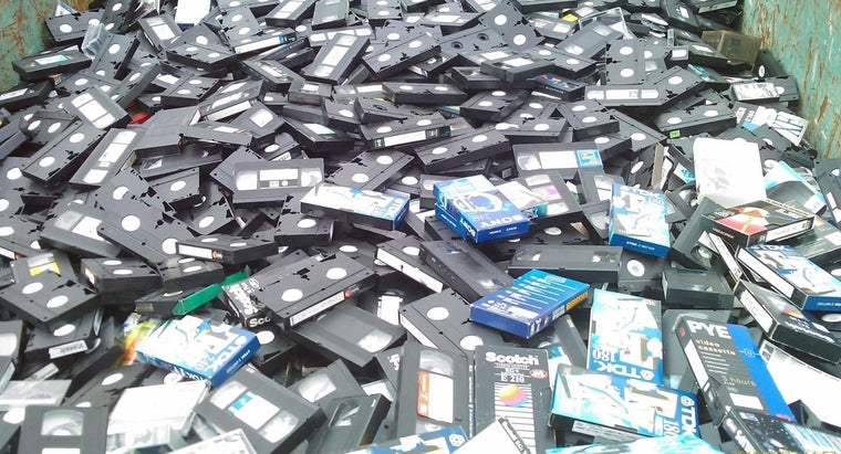 Where Should I Take Old VCR Tapes to Dispose of Them Properly?