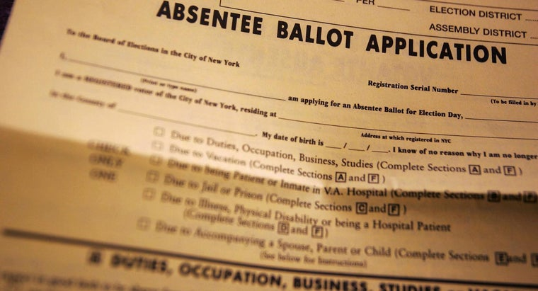 How Do You Request an Absentee Ballot?