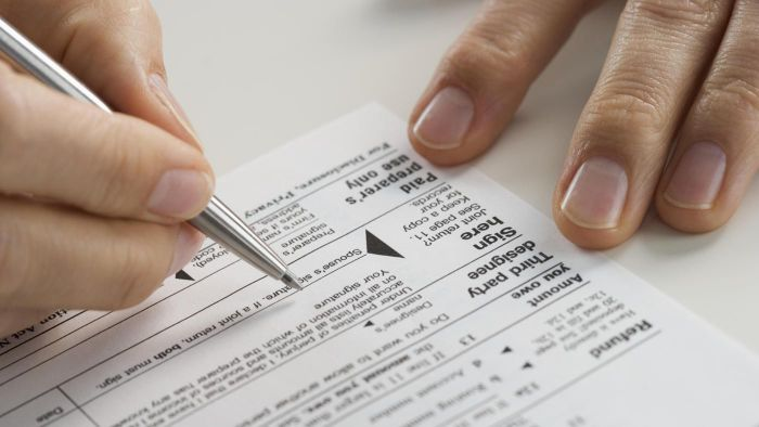 What is the simplest tax for to file with the IRS?