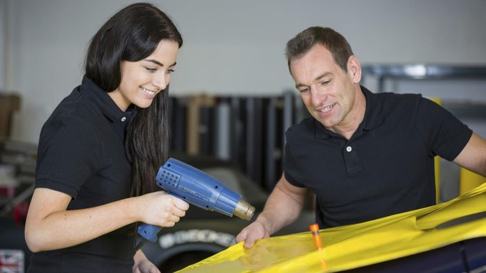 What Type of Jobs Are Offered at Companies That Do Car Wrap Advertising?