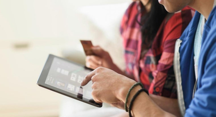 How Do You Buy Items Online Using a Checking Account?