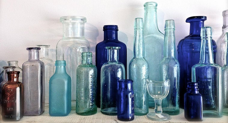 What Can You Do With Old Glass Bottles?