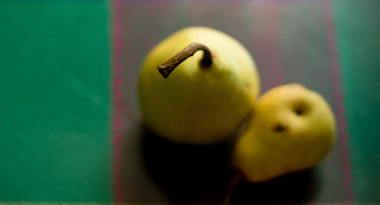 What Are Some Recipes That Use Frozen Pears?