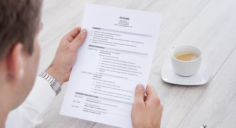Are Free Resume Templates Available?