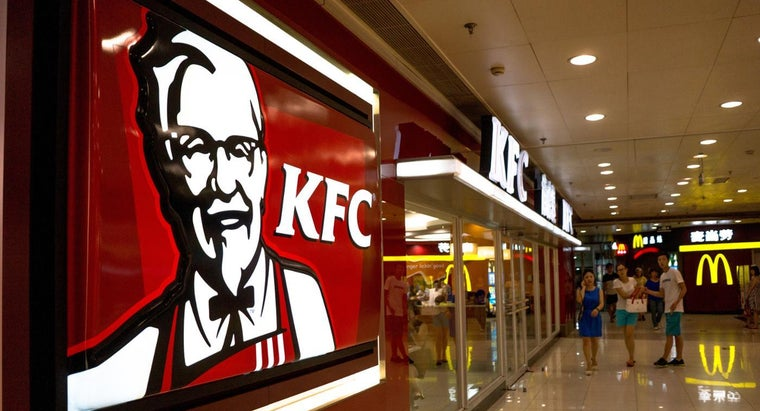 Where Can You Find the Calories on a Kentucky Fried Chicken Menu?