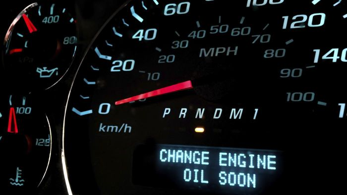 What tools are needed to reset the oil change light on a car?