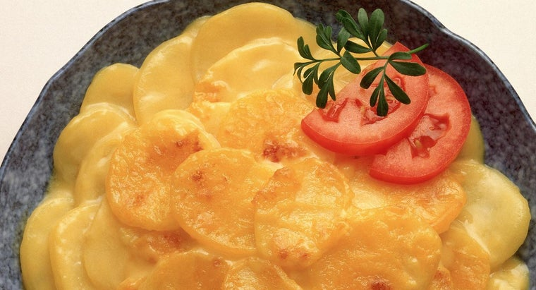 Where Can You Find Easy Recipes for Au Gratin Potatoes?