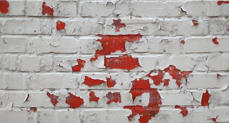 How Do You Remove Paint From Brick?