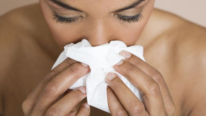 What are the common causes for nosebleeds in adults who are in perfect health?