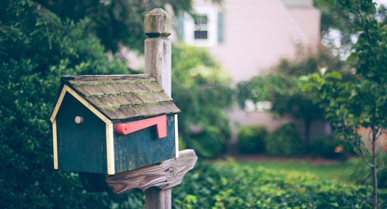 Where Do You Get Signs for Your Mailbox?