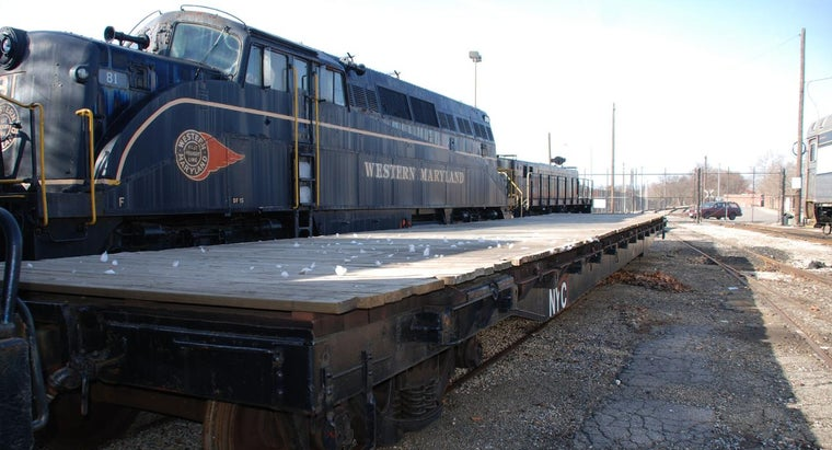 Where Does the Railroad Industry Buy New Flat Cars?