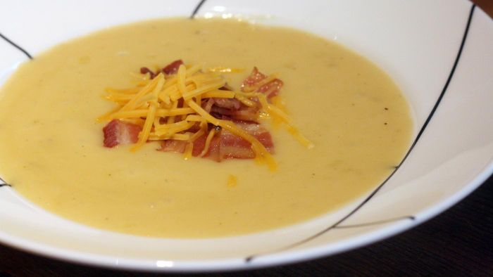 What Is a Good Recipe for Old-Fashioned Potato Soup?