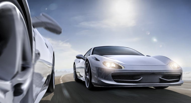What Are the Fastest Cars As of 2015?