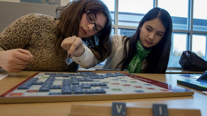 What Are Some Modern Words Included in the Scrabble Dictionary?