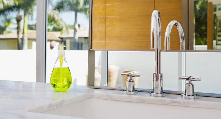 How Do You Remove Stains From a Corian Sink?