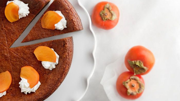What Is a Recipe for Persimmon Cake?