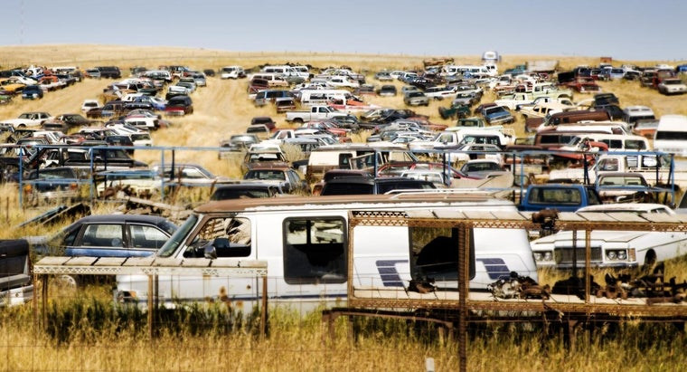 Do Salvage Yards Have Motorhomes?