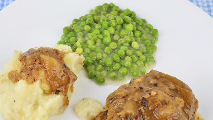 What is a good recipe for creamed peas?