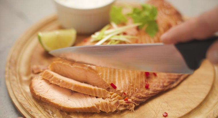 How Do You Prepare Baked Salmon With Mayonnaise?