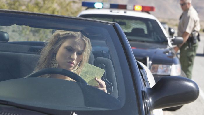 What Types of Traffic Violations Typically Result in Fines?