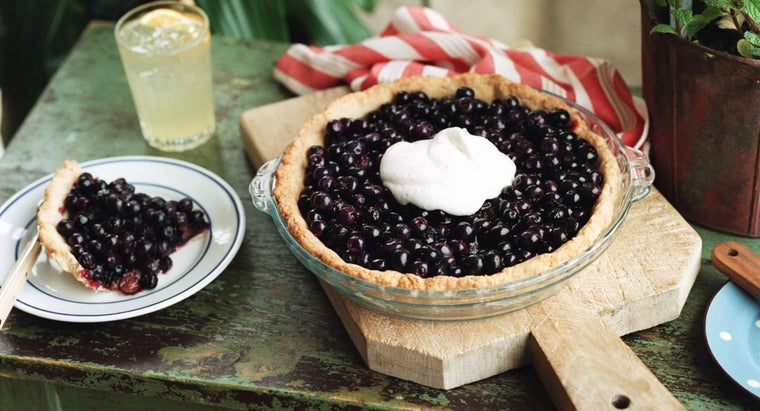 Where Can You Find a Good Blueberry Pie Recipe?