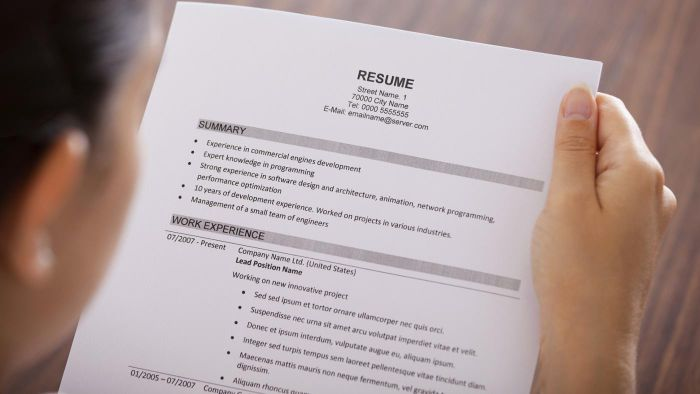 How Can You Get a Sample of a Resume for Free?