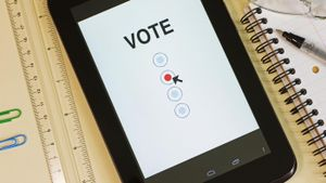 Can you vote online?