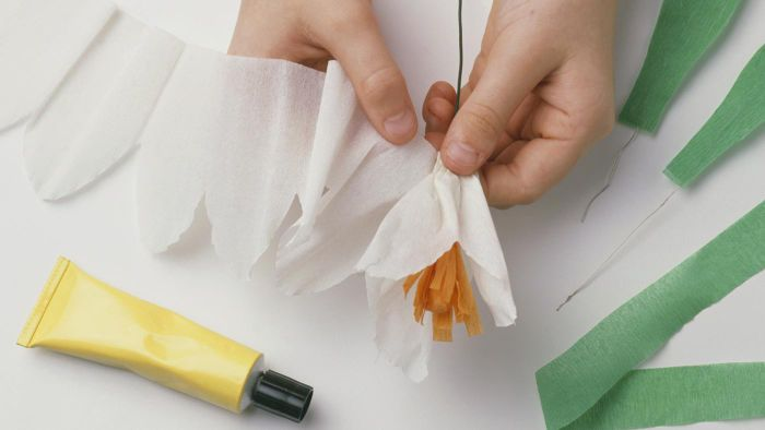 What Supplies Do You Need to Make Tissue Paper Flowers?