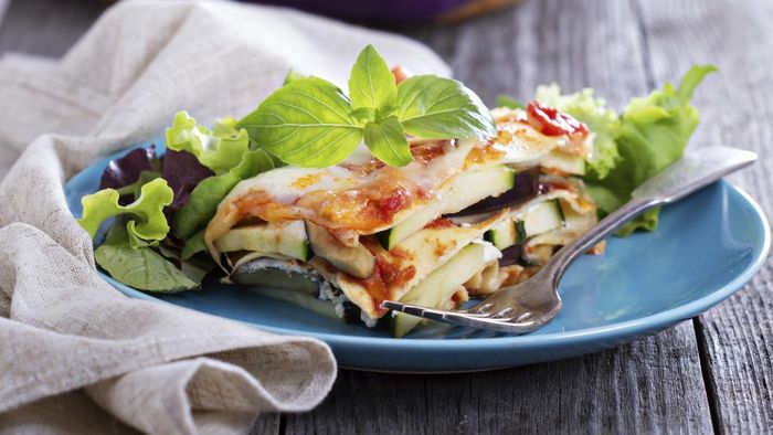 What Is an Easy Eggplant Lasagna Recipe?