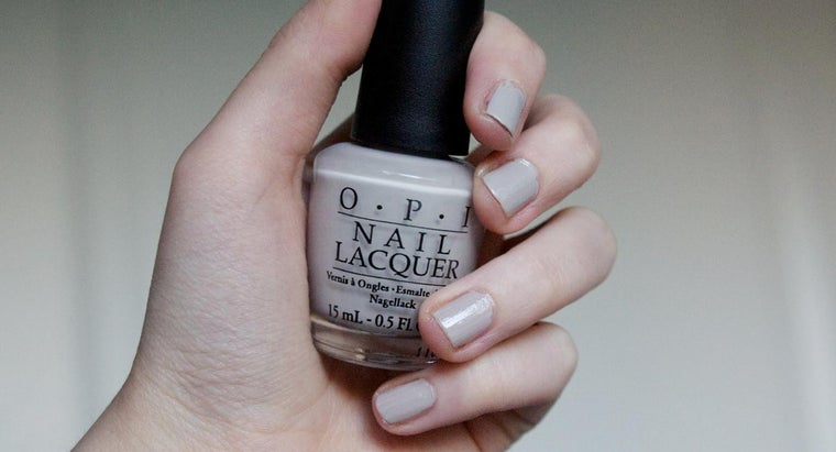 Where Can You Find A List Of Opi Nail Polish Colors