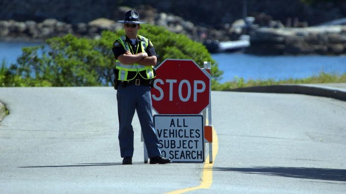 How Do the Police Choose the Locations for Checkpoints?