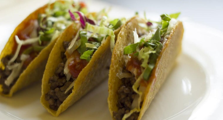 What Is a Good Taco Recipe Using Ground Beef?