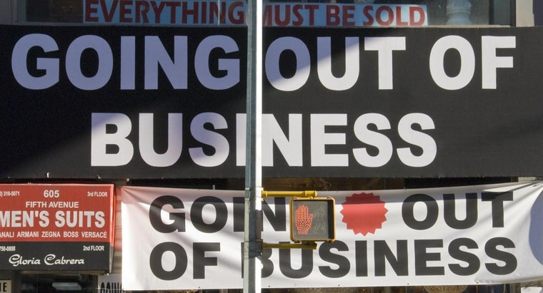 Why Do Stores Go Out of Business?