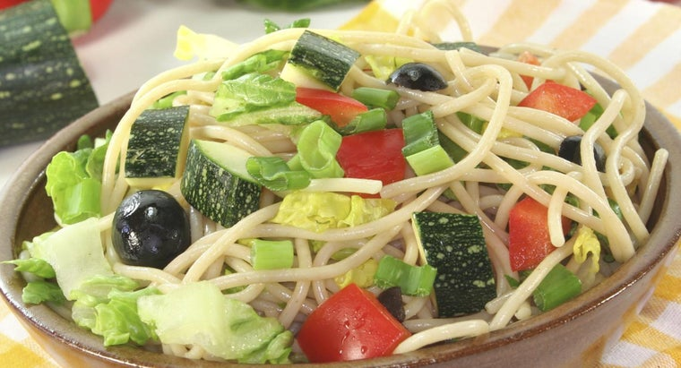 What Is a Good Recipe for Spaghetti Salad?